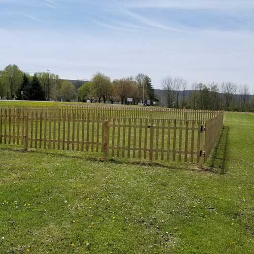 Fence Polaroid 1 - Landscaping
