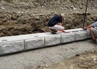 baldwin 10 400x284 - Baldwin Retaining Wall