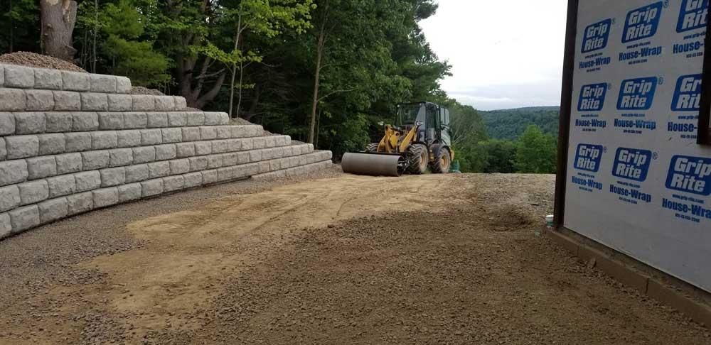 Baldwin Retaining Wall