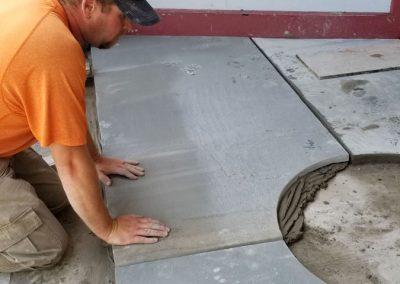 bluestone steps in process 4 400x284 - Bluestone Steps