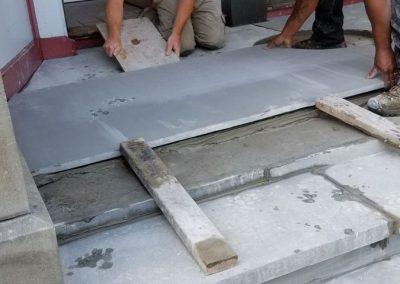 bluestone steps in process 7 400x284 - Bluestone Steps