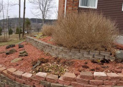 driveway garden before2 400x284 - Apartment Complex Landscape