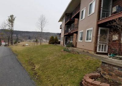 driveway view 400x284 - Apartment Complex Landscape