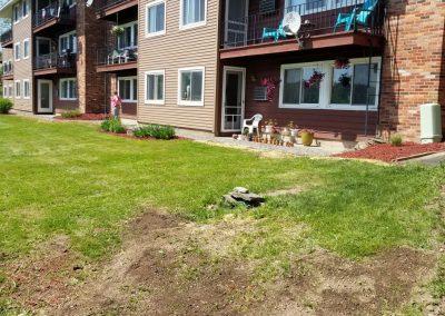end of building after4 400x284 - Apartment Complex Landscape