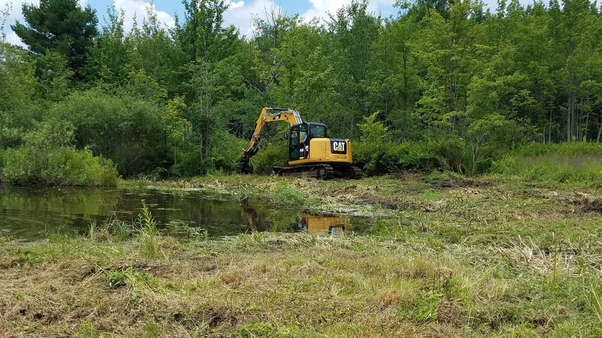 excavator pond - Home