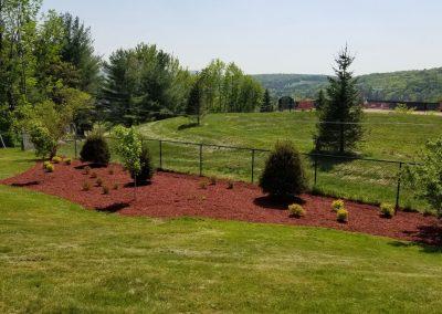 fence line after 400x284 - Apartment Complex Landscape