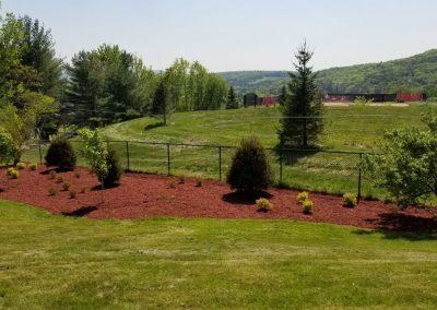 fence line after2 400x284 - Apartment Complex Landscape