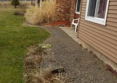 little gardens before 400x284 - Apartment Complex Landscape