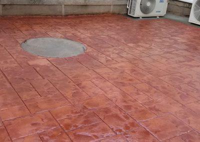 tompkins patio after 1 400x284 - Tompkins Concrete Patio