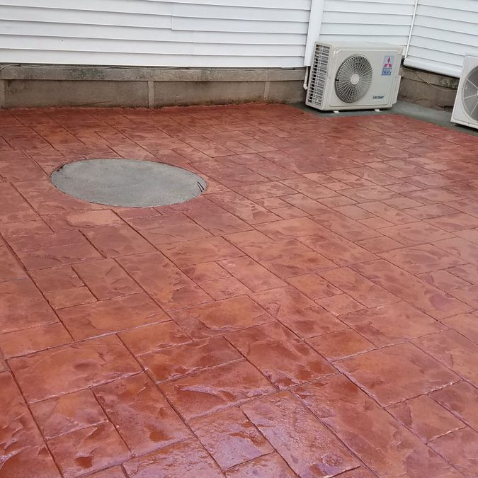 Tompkins Concrete Patio