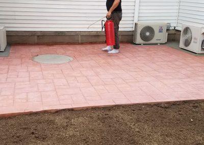 tompkins patio after 5 400x284 - Tompkins Concrete Patio