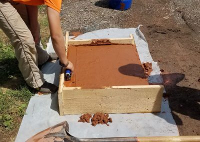 tompkins patio in progress 10 400x284 - Tompkins Concrete Patio