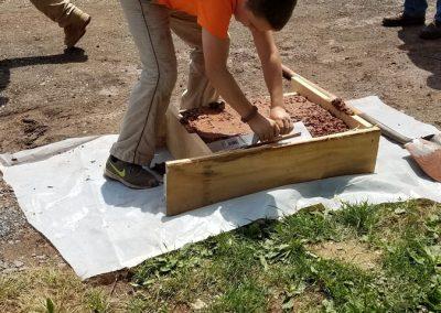 tompkins patio in progress 15 400x284 - Tompkins Concrete Patio