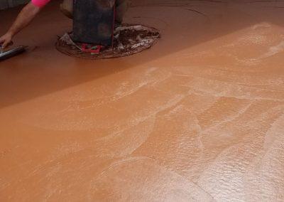 tompkins patio in progress 6 400x284 - Tompkins Concrete Patio